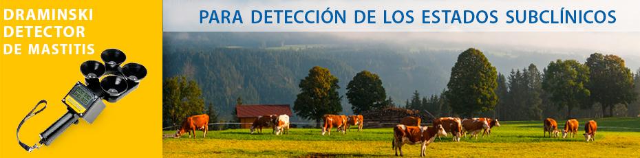DRAMINSKI Detector de Mastitis – un equipo práctico para la detección de los estados subclínicos de inflamación de la úbre. Comprueba!