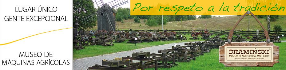 Museo al aire libre de maquinaria agrícola en Naterki es el resultado de muchos años de pasión por la historia de la agricultura polaca. Comprueba!