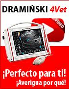 DRAMINSKI 4Vet - Ecógrafo veterinario profesional. ¡Perfecto para ti! ¡Averigua por qué!