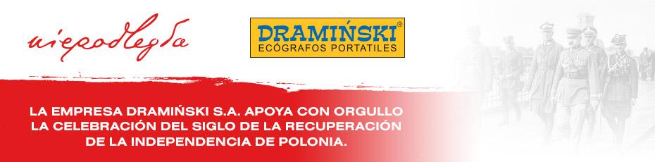La empresa Dramiński S.A. apoya con orgullo la celebración del siglo de la recuperación de la independencia de Polonia.