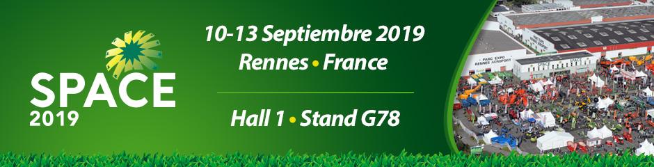 Ven y visita nuestro stand durante el ESPACIO. 10-13 de septiembre • Rennes, Francia