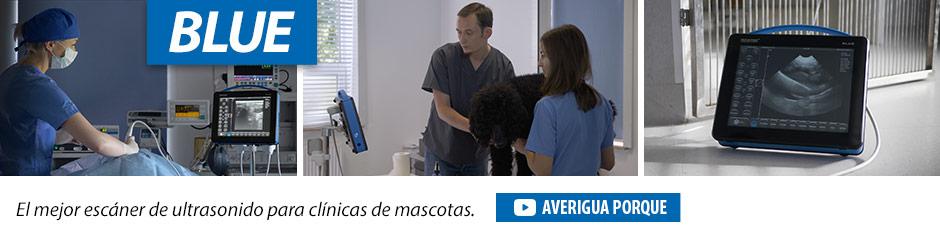 Dramiński BLUE El mejor escáner de ultrasonido para clínicas de mascotas.