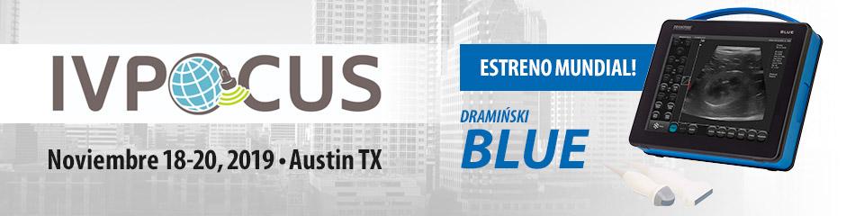 Estreno mundial del escáner de ultrasonido Dramiński BLUE