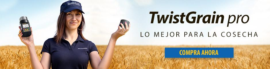 Twistgrain pro el mejor medidor de humedad para la cosecha