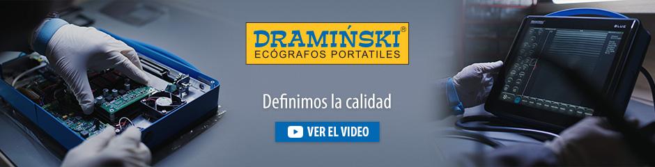 Dramiński es un fabricante europeo independiente de escáneres de ultrasonido portátiles y dispositivos electrónicos para la agricultura.